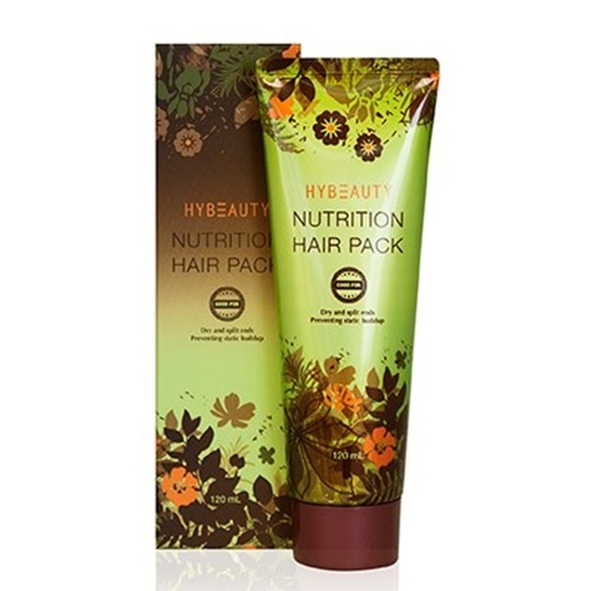 HyBeauty Nutrition Hair Pack ครีมหมักผม ไฮบิวตี้ นูทริชั่น แฮร์ แพค ฟื้นบำรุงผม แห้งเสีย และแตกปลาย