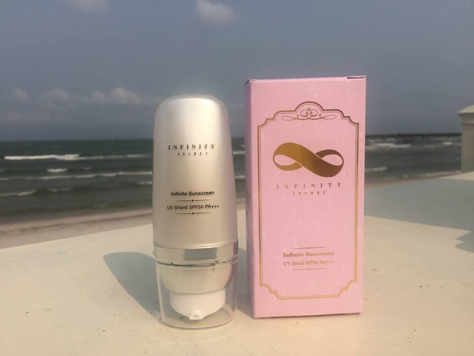 Infinity Protection Sunscreen ท้าแดด มั่นใจ ปกป้องผิวคุณ รังสียูวีเอ ยูวีบี ก็ทำอะไรคุณไม่ได้
