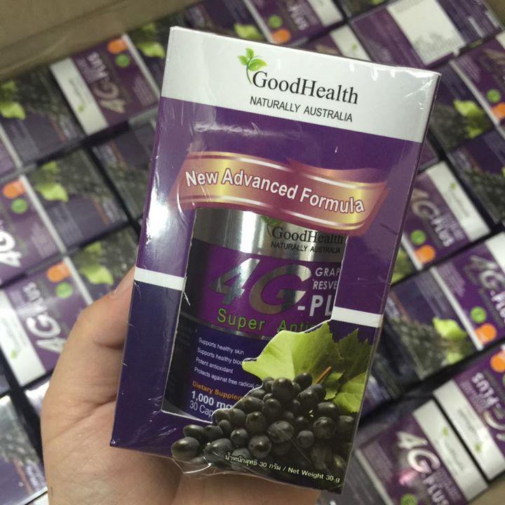 4G-Beta Plus Grape Seed By GoodHealth โฟร์จี-เบต้า พลัส วิตามินจากมัลติเกรป