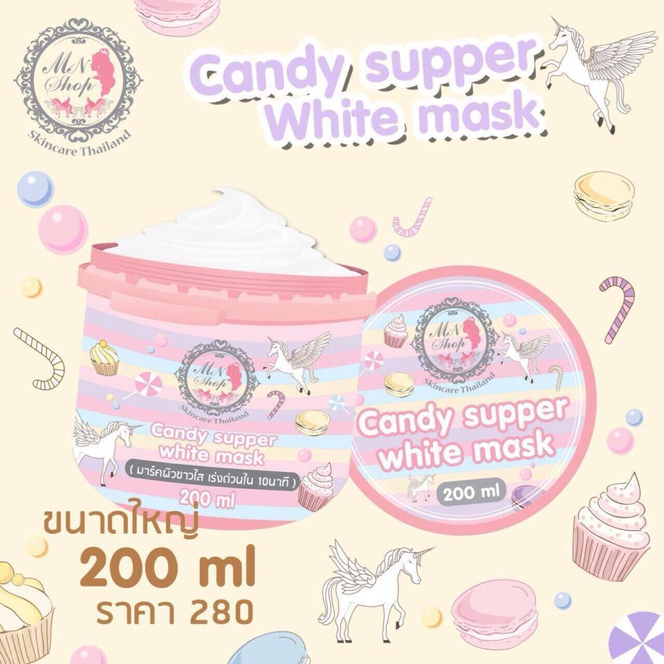 Candy supper white mask by MN Shop มาร์คแคนดี้พอกผิวขาวใน ...