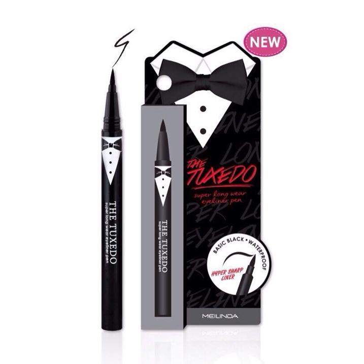Mei Linda The Tuxedo Super Long Wear Eyeliner Pen อายไลเนอร์ เมลินดา เดอะ ทักซิโด้ ซุปเปอร์ ลอง แวร์ อายไลเนอร์